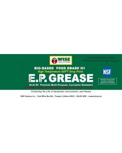 High Temp Food Grade EP Grease NLGI #2 NSF H1