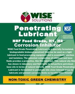 Penetrating Lubricant - Food Grade Front Label