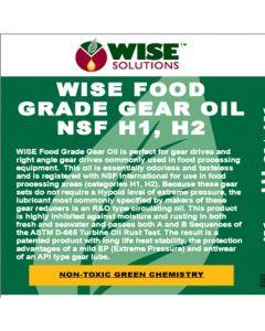Food Grade Gear Oil (NSF Registration Pending)