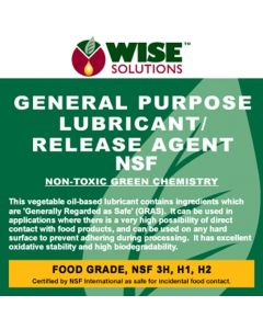 Food Grade General Purpose Lubricant/Release