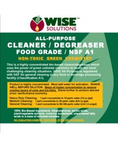 All Purpose Cleaner/Degreaser NSF A1