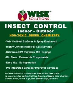 Wise Solutions Insect Control Label Front Panel