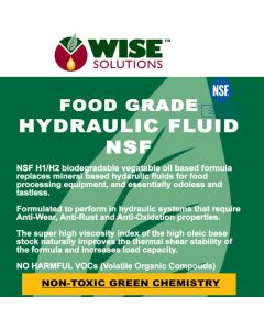 Bio-Food Grade Hydraulic Fluid NSF Approved Front Label